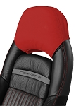 C5 Corvette 1997-2004 Leather Headrest Covers - Solid Colors - Pair