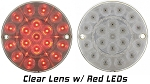 C3 Corvette 1975-1982 LED Tail Light Assembly - Clear Lens - Pair