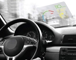Heads Up Display Reflective Windshield Film - 2 pack - 7.5 inches