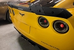 C6 Corvette 2005-2013 Hydro Carbon Fiber Rear Spoiler w/ Wicker Bill - Tint Selection