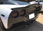 C6 Corvette 2005-2013 Custom Painted Drifter Style Spoiler - Easy Installation No Drill Design