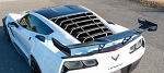 C7 Corvette 2014-2019 Hydro Carbon Fiber Rear Window Louver