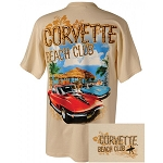 C2 Corvette 1963-1967 Mid-Year Beach Club T-Shirt