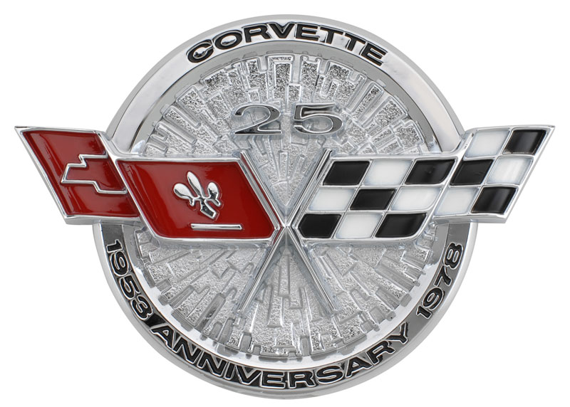 C3 Corvette 1968-1982 Gas Door Emblems | Corvette Mods