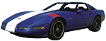C4 Corvette 1996 Grand Sport Decal Kits