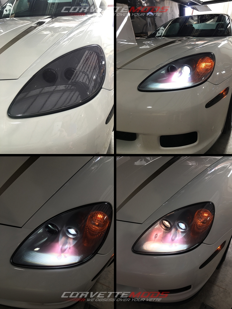 C6 Corvette 2005 2013 Base Gs Zr1 Z06 Lamin X Headlight