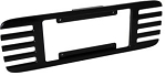 C5 Corvette 1997-2004 Billet License Plate Frames - Black