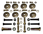 C3 Corvette 1968-1982 A-Arm Hardware Kit - 42 pcs