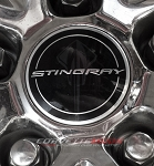 C7 Corvette Stingray 2014+ GM Center Cap - Stingray Logo