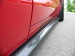 C6 Corvette 2005-2013 Hydro Carbon Fiber ZR1 Style Side Skirts