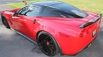 C6 Corvette 2005-2013 ZR1 Style Side Skirts - Unpainted
