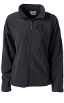 C7 Corvette 2014+ Stingray Ladies Sonoma Full-Zip Microfleece Jacket - Charcoal