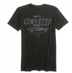 Corvette American Classic Tee - Heather Dark Gray