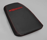 C5 Corvette 2001-2004 Console Lid Assembly - Accent Stitched W/ Z06/ 50th Anniversary Logo