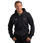 C7 Corvette 2014+ Full-Zip Under Armour Fleece - Black
