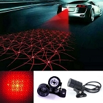 C2 C3 C4 C5 C6 C7 Corvette 1963-2014+ Rear Anti Collision Driving Caution Light - Spiral Pattern