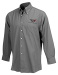 C5 Corvette 1997-2004 Mens Logo Dress Shirt - Wrinkle Resistant