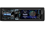 Axxera Single DIN CD Receiver w/ Built-In Bluetooth & 3 Inch LCD - USB & 3.5mm Inputs