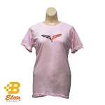 C6 Corvette 2005-2013 Ladies Ringspun Cotton Tee