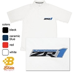 C6 Corvette 2005-2013 ZR1 Corvette Embroidered Men's and Women's Performance Polo Shirt