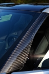 C7 Corvette Stingray/Z06/Grand Sport 2014+ Hydro Carbon Fiber A-Pillar Panels