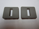 C4 C5 Corvette 1984-2004 Seat Back Bezels - Pair