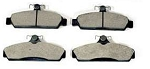 C4 Corvette 1984-1987 Hawk HP Plus Ferro Carbon Front Brake Pads
