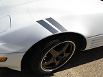 C4 Corvette 1984-1996 Grand Sport Fender Stripes - 14 Color Options