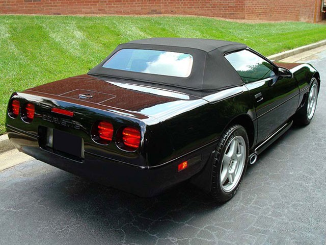 C4 Corvette 1986 1996 Convertible Tops Corvette Mods