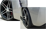 C6 Corvette 2005-2013 GM Splash Guard Set