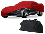 C7 Corvette Stingray/Z06/Grand Sport 2014+ GM Indoor Crossed Flag Logo Car Cover