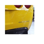 C6 Corvette 2005-2013 Corvette Rear Stainless Steel Letters