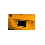 C6 Corvette 2005-2013 Rear License Plate Frames - Factory Paint Colors