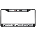 C5 Corvette 1997-2004 Chrome Logo License Plate Surround