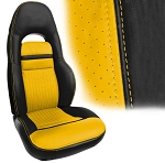 C5 Corvette 1997-2004 UltraVinyl Seat Covers - Two-Tone Colors