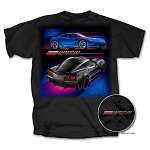 C7 Corvette Grand Sport 2017-2019 Colored Design T-Shirt