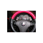 C6 Corvette 2005-2013 Two-Tone/Solid Leather Steering Wheel Covers