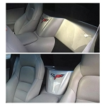 C6 Corvette 2005-2013 Coupe Waterfall Extension - Paint-Matched Color Options