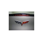 C6 Corvette 2005-2013 Corvette Script Third Brake Light Decal