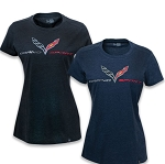C7 Corvette 2015-2019 Grand Sport Foil Heather T-Shirt