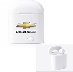 Wireless Earbuds w/ Gold Chevrolet Bowtie Logo