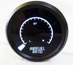 Air/Fuel Ratio Narrowband LED Digital Bargraph Gauge w/ Chrome Bezel