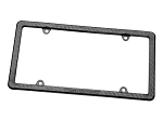 WeatherTech Carbon Fiber License Plate Frame