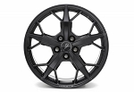 C8 Next Gen Corvette 2020+ Front & Rear Aluminum 5-Trident Spoke Wheels - Black - 19x8.5/20x8.5
