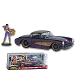 1:24th 1957 Corvette Diecast Model w/ Batgirl Figure