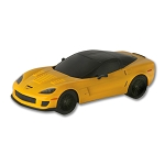 1:18th Yellow Corvette Z06 Remote Control Diecast Model
