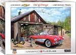 Out of Storage 1959 Corvette Jigsaw Puzzle