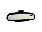 C6 Corvette Base/Z06/ZR1/Grand Sport 2006-2013 GM Inside Rear View Mirror w/ Auto Adjust & Graphics - w/o GPS