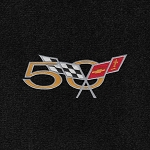 C5 Corvette 2003 Lloyd Ultimat Floor Mats 50th Anniversary Logo