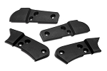 C3 Corvette 1978-1982 Seat Hinge Covers 4 Piece Set - Unpainted